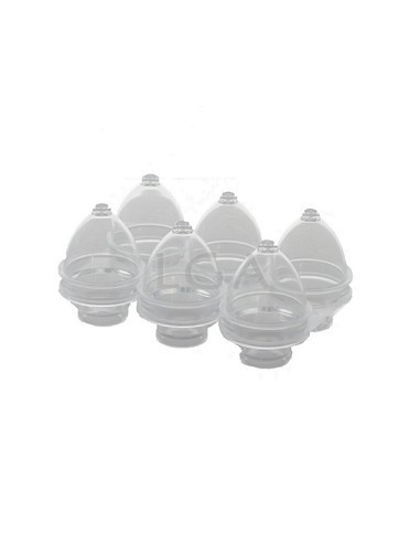 Pessaries moulds for 6