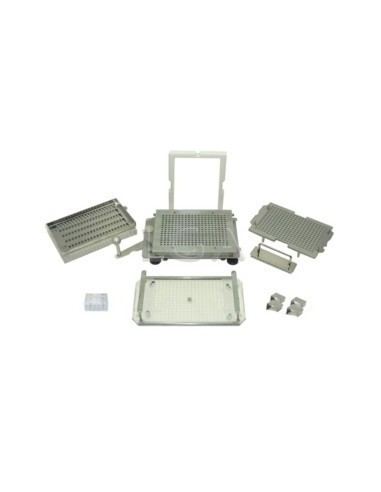 Kit ProFiller 3600 Kapselfüllgerät mit Lader, mit austauschbaren Platten, für 300 Gelatinekapseln