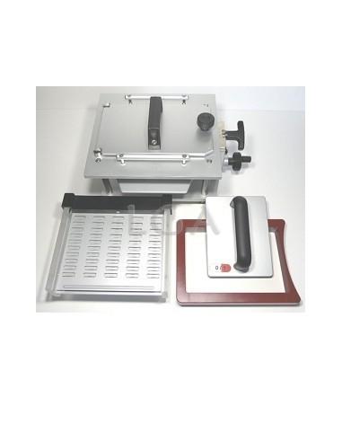 Kit QB 100 Kapselfüllgerät mit Lader, mit austauschbaren Platten, für 100 Gelatinekapseln