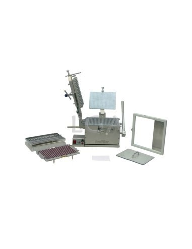 Kit ProFiller 3700 capsule filler with loader, with interchangeable plates, for 300 caps