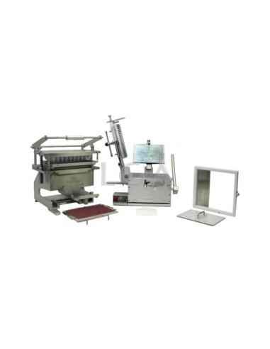 Kit ProFiller 3800, encapsulador de cápsulas con cargador, con placas intercambiables, para 300 cápsulas