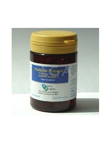 Capsules molles huile poisson (Omega 3)