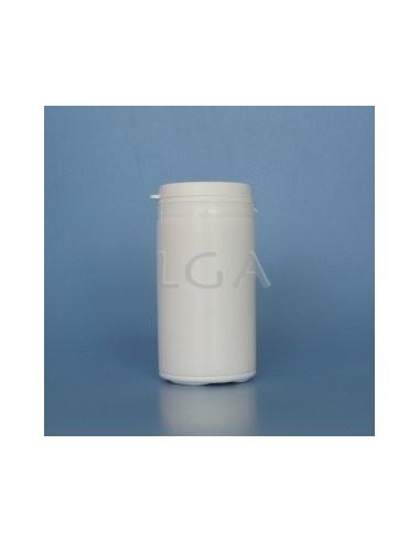 Pilulier plastique blanc 100ml- à couvercle inviolable