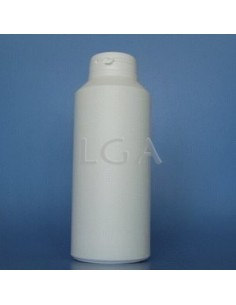 Pilulier plastique blanc 500ml, à couvercle inviolable