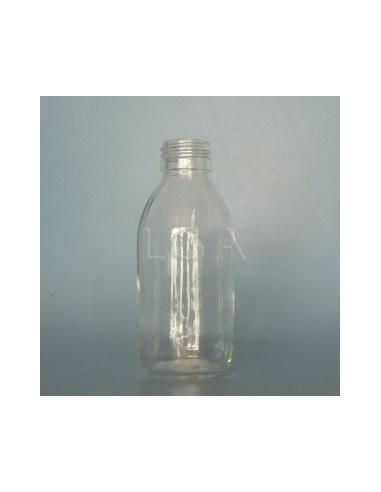 Flacon verre rond PP28 blanc 150ml