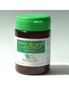 Capsules molles d'huile de bourrache