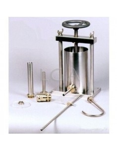 Appareil pour remplir tubes- flacons et pots- pour pâteux et liquides épais