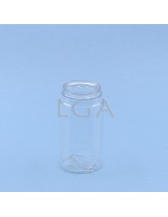 Crystal plastic capsule box...