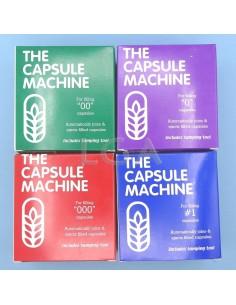 Manual capsule filler, The Capsule Machine, for 24 caps