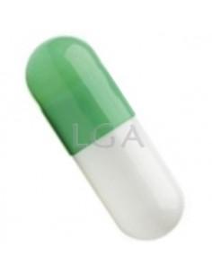 Vert / Blanc opaque