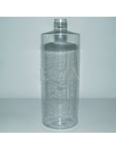Flacon rond PVC cristal Ø22 500ml