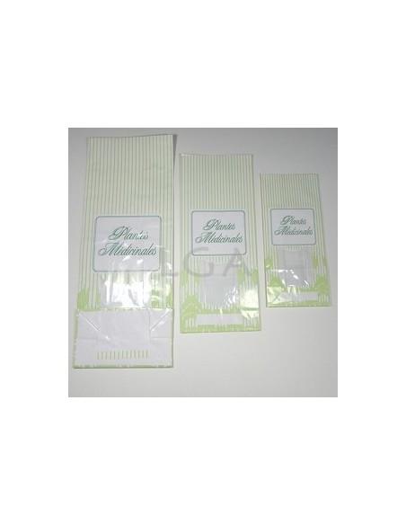 Sachets plantes papier imprimés 'Plantes médicinales'
