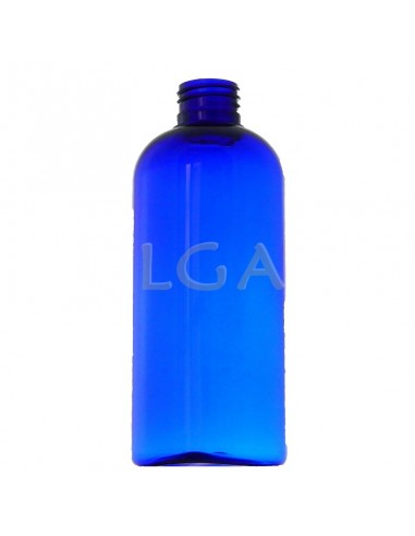 Rounded PET crystal bottles Ø24 200ml