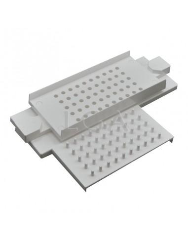 Kit capsulfiller + tamper size 1
