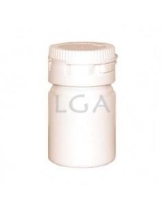 Pilulier plastique blanc 15ml, à capsule inviolable